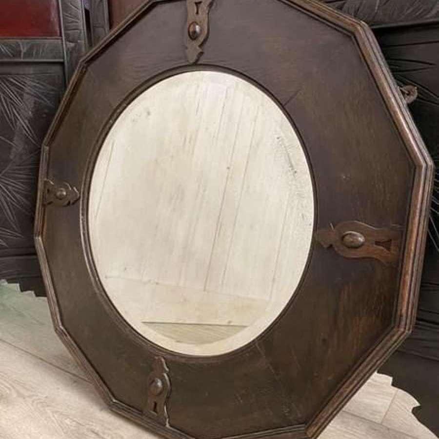 Dodecagon Bevelled Edge Mirror
