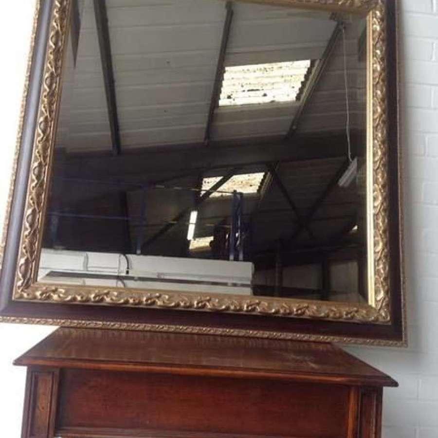 Large Parcel and Gilt Bevelled Mirror