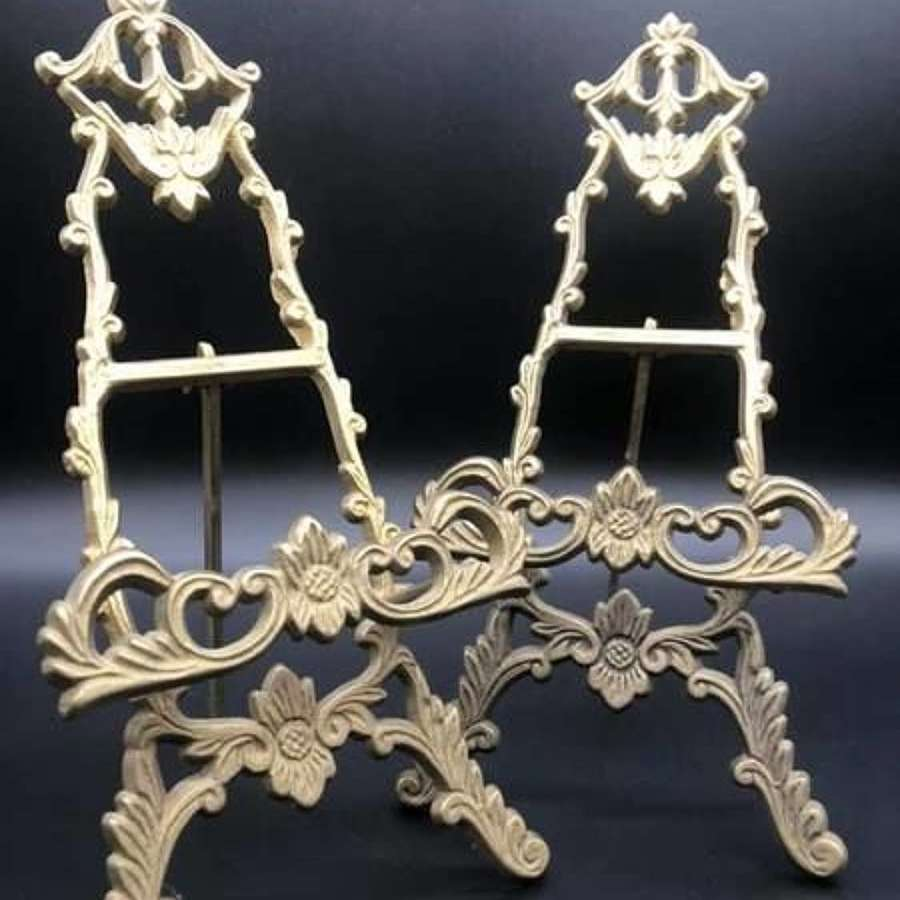 Pair of Miniature Easels