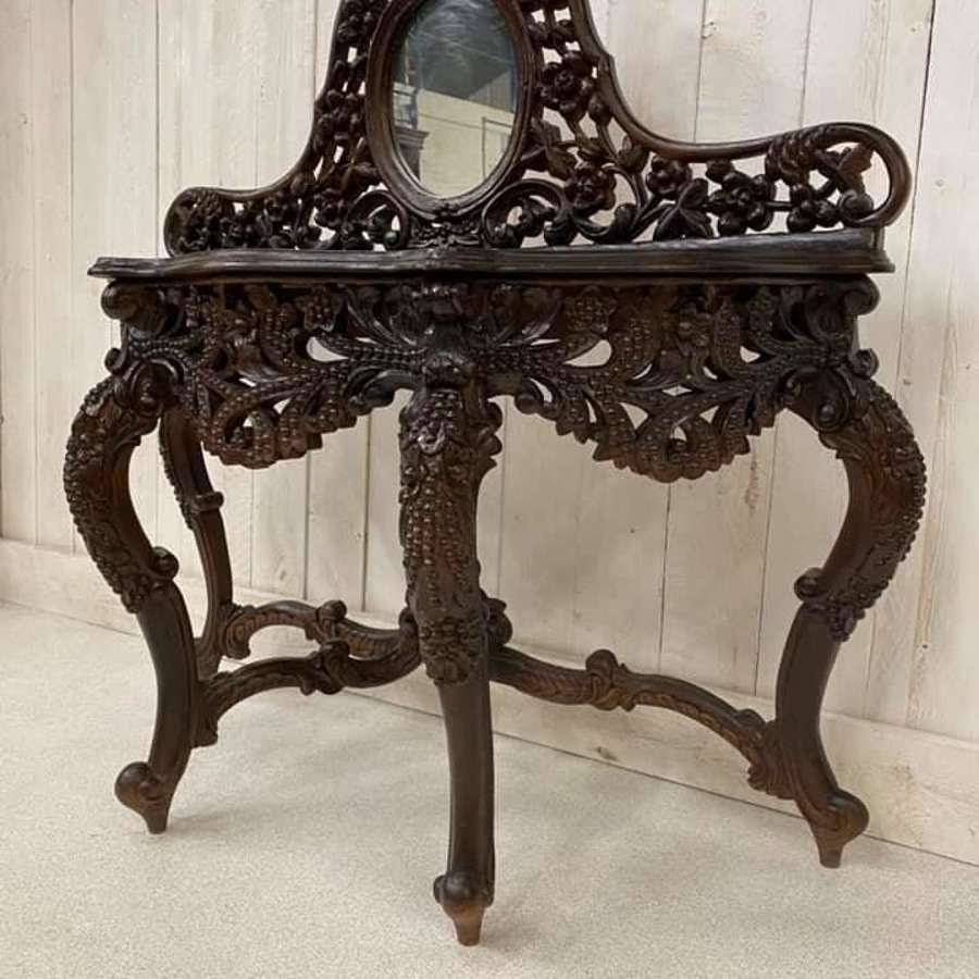 Eastern Carved Console Table