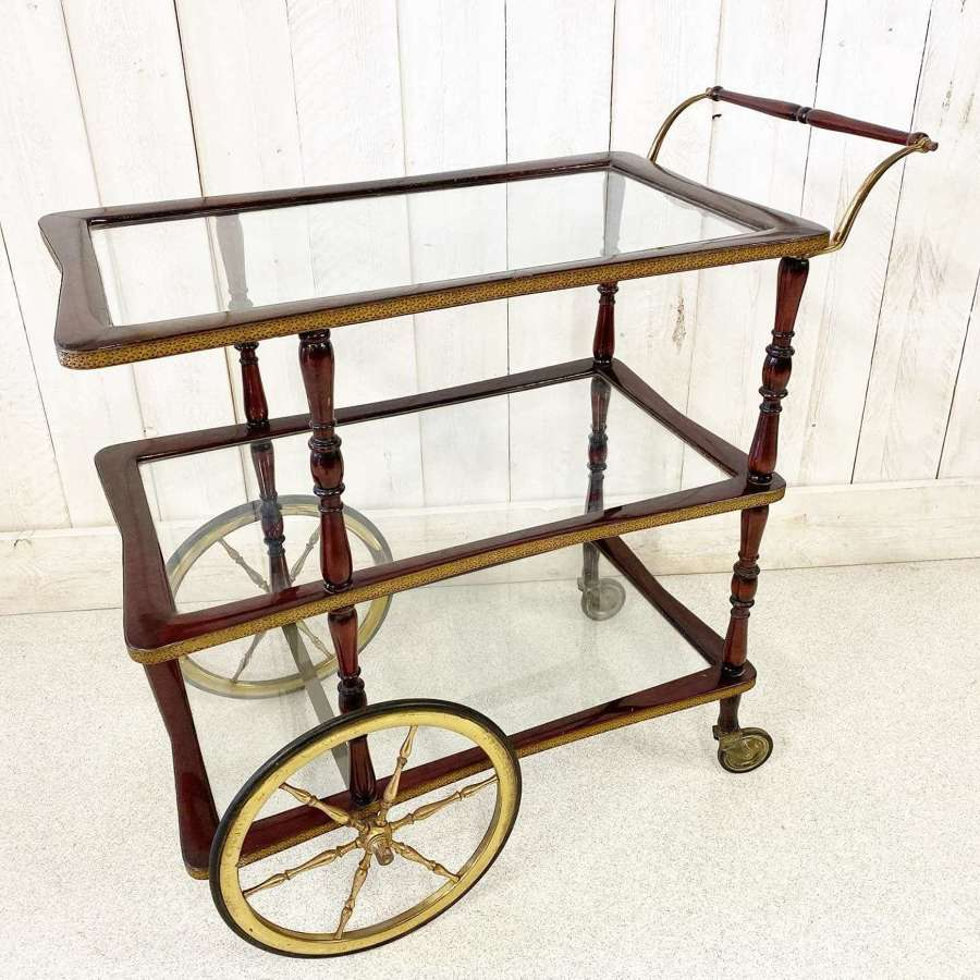 Antique Quirky Drinks Trolley
