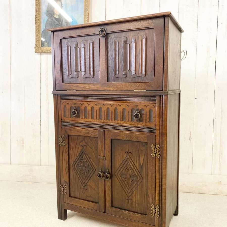 Antique Cocktail Cabinet