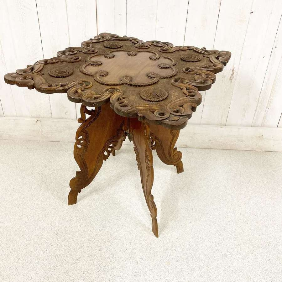 Indonesian Side Table