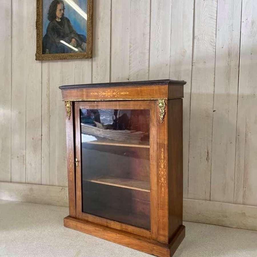 Walnut Victorian Pier Cabinet